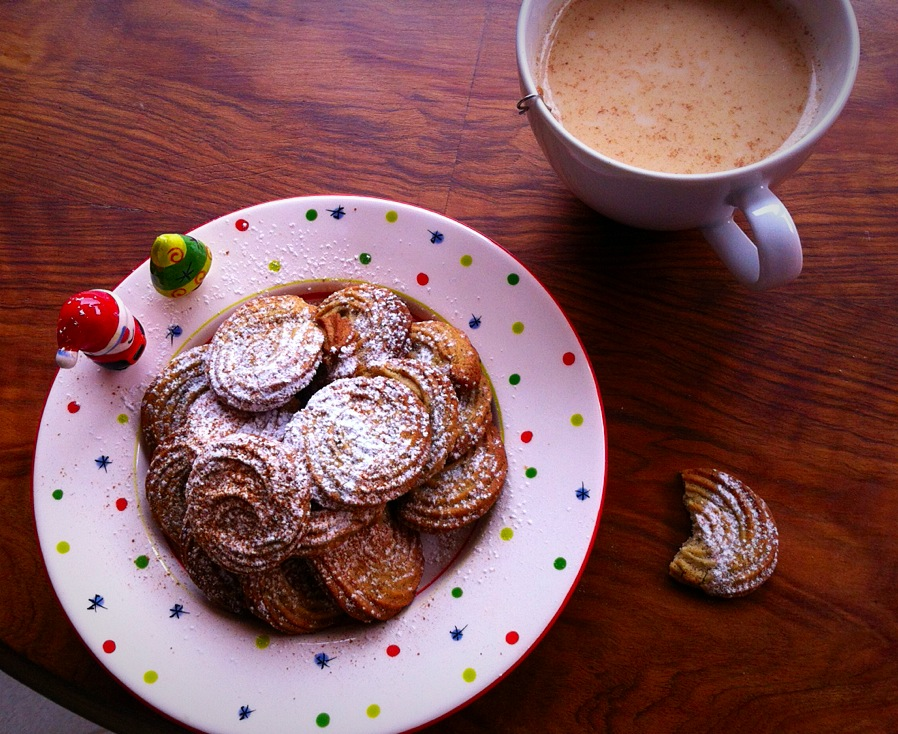 Navidad: té chai y galletas chai