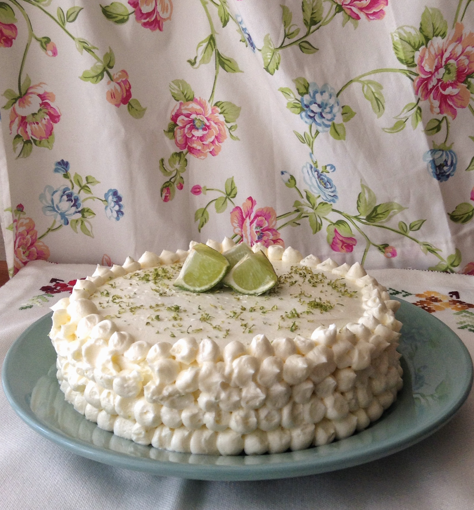 Tarta-mojito