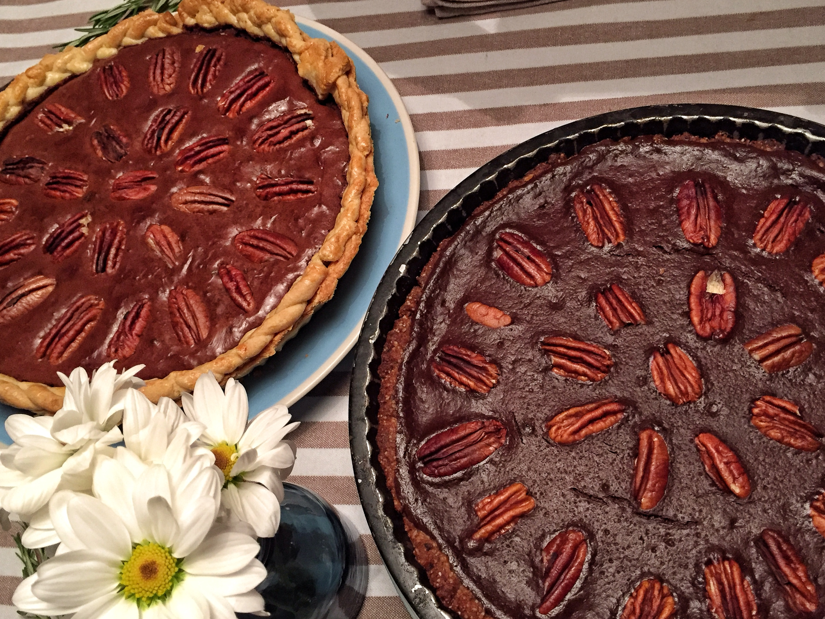 Chocolate-pecan-tart